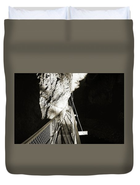 Whitewater Walk Duvet Cover by Jan W Faul