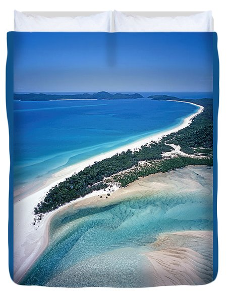 Duvet Cover featuring the photograph Whitsunday Islands by Juergen Held