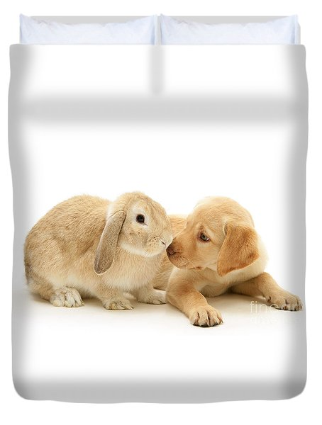 Who Ate All The Carrots Duvet Cover