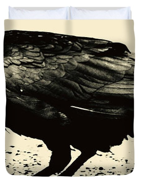Who Calling Duvet Cover by Jerry Cordeiro