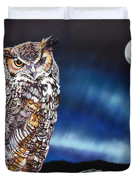 Who Doesn't Love The Night Duvet Cover