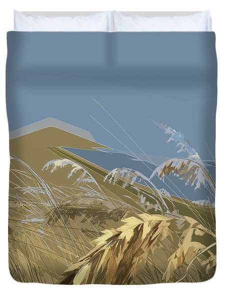 Who Has Seen The Wind? Duvet Cover