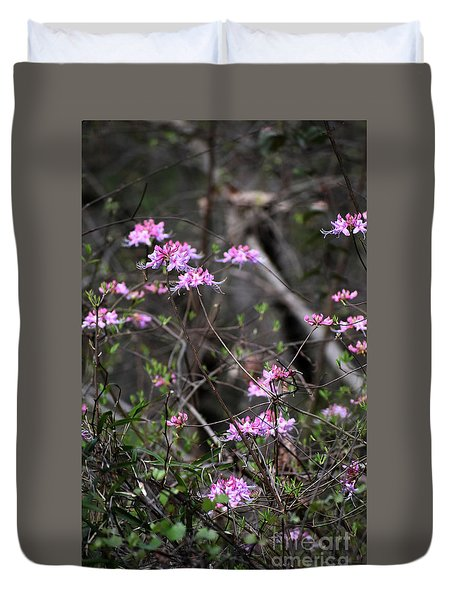 Duvet Cover featuring the photograph Who Put The Wild In Wildflowers by Skip Willits