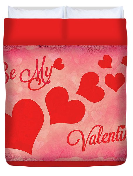 Whole Lotta Love Duvet Cover by Iryna Goodall