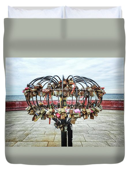 Whole Lotta Love Duvet Cover