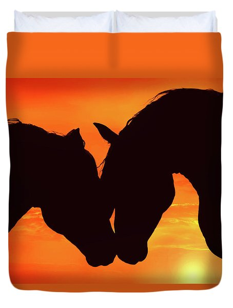 Wholeheartedly Duvet Cover