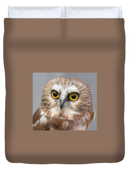 Whoo Me Duvet Cover