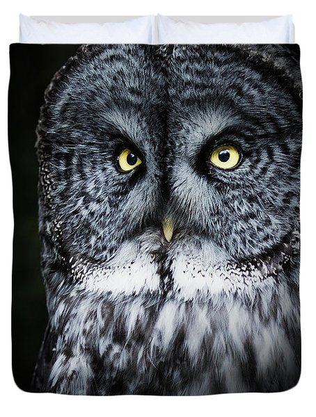Whooo Are You Looking At? Duvet Cover
