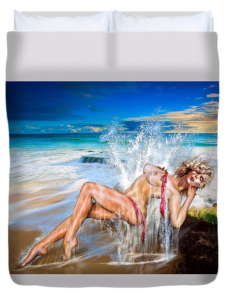 Whoops  ...  Marylin Duvet Cover