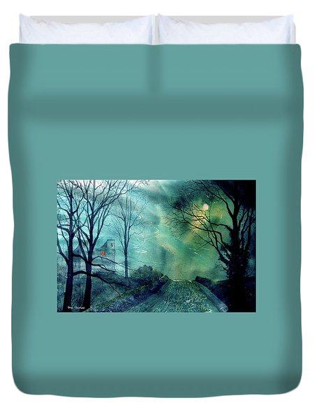 Whorlton Castle Duvet Cover