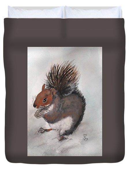 Who's Had Me Nuts Duvet Cover