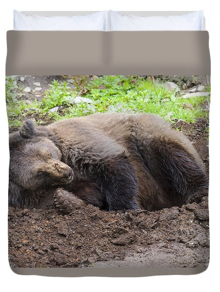 Whose Making Noise Duvet Cover
