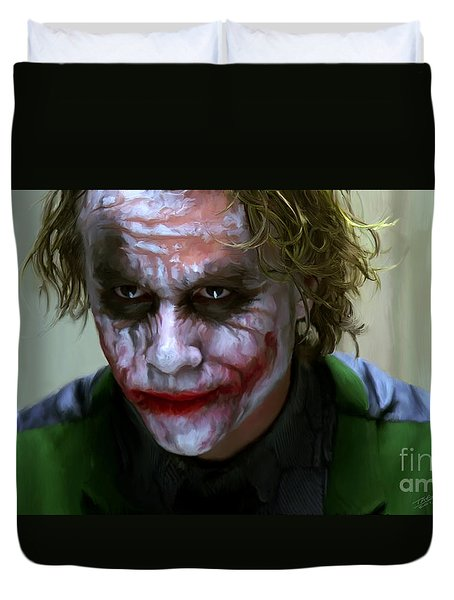 Why So Serious Duvet Cover