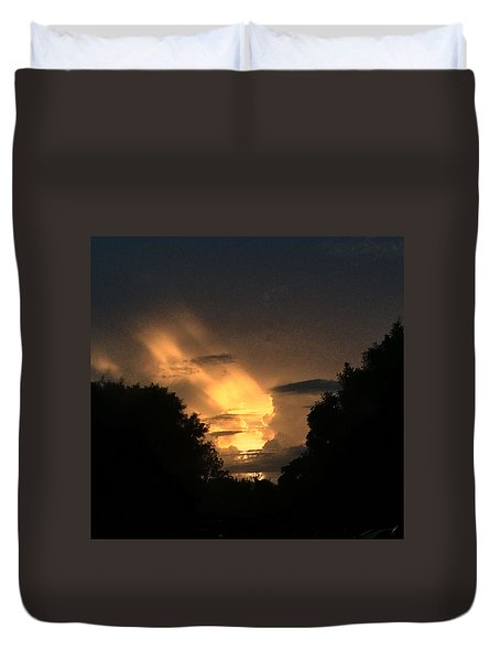Wicked Sky Duvet Cover