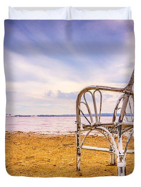 Wicker Chair Duvet Cover