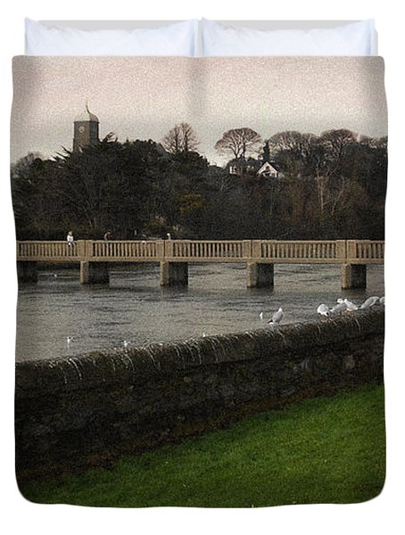Wicklow Footbridge Duvet Cover