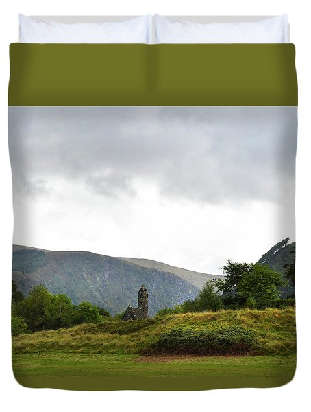 Duvet Cover featuring the photograph Wicklow Mountains by Terence Davis
