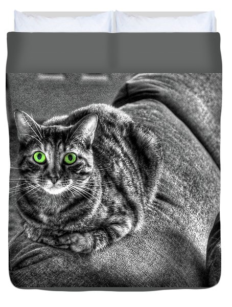 Wide Eyes Duvet Cover