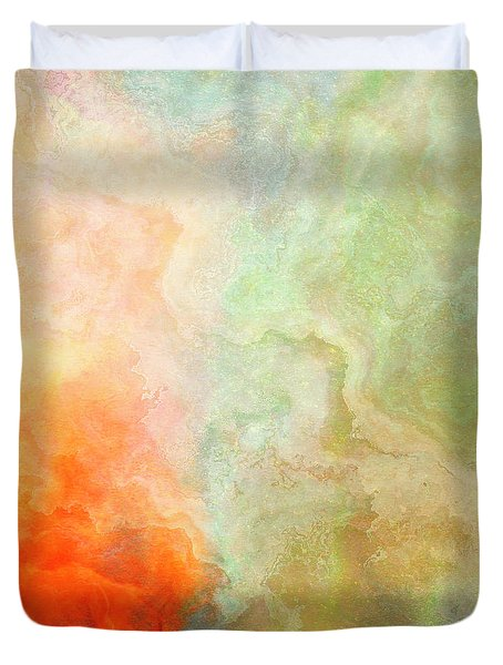 Wide Open - Abstract Art Duvet Cover