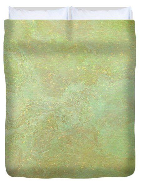 Wide Open - Abstract Art - Triptych 3 Of 3 Duvet Cover