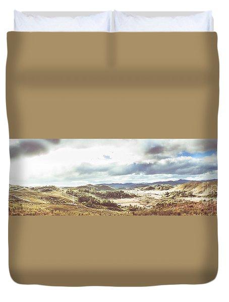 Wide Open Country Australia Duvet Cover