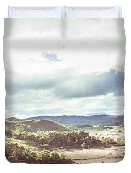 Wide Open Country Australia Duvet Cover