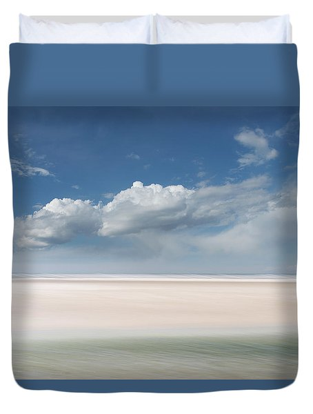 Wide Open Duvet Cover