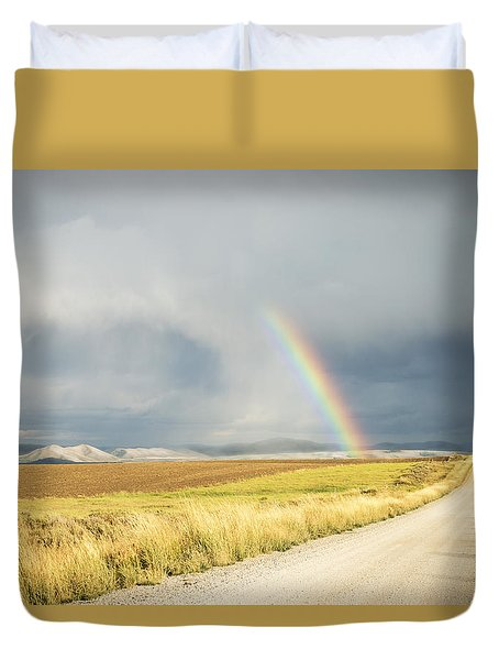 Wide Open Spaces Duvet Cover
