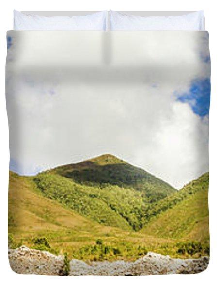 Wide West Coast Of Tasmania Duvet Cover