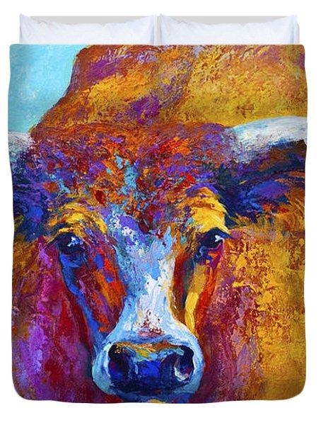 Widespread - Texas Longhorn Duvet Cover