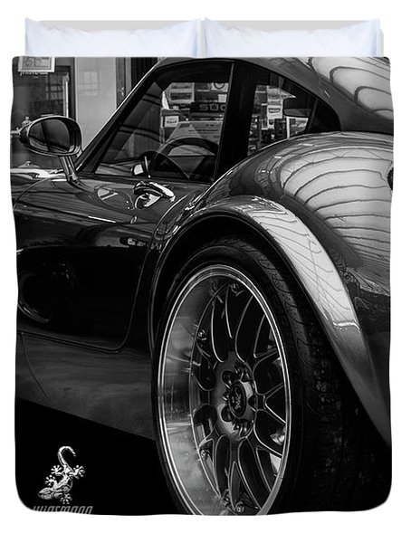Wiesmann Mf4 Sports Car Duvet Cover by ISAW Gallery
