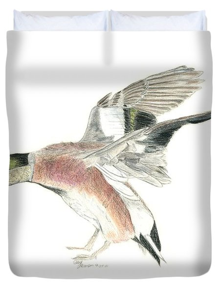 Wigeon Duvet Cover