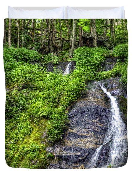 Wigwam Falls Duvet Cover
