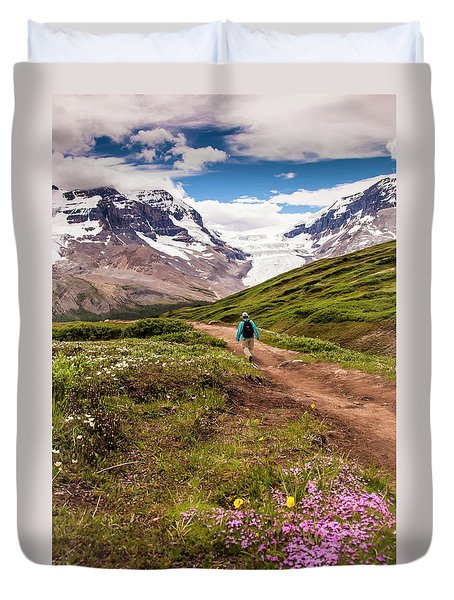 Wilcox Pass Duvet Cover