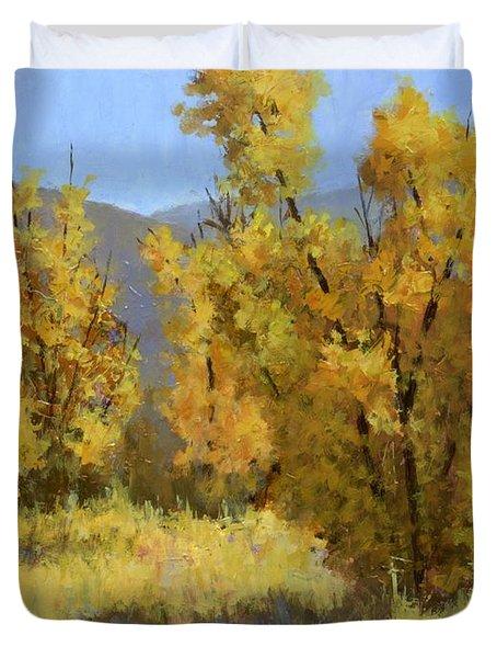 Wild Autumn Duvet Cover