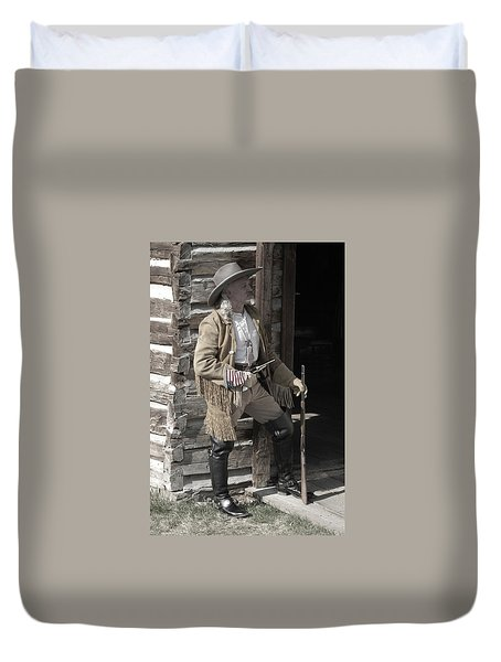 Wild Bill Duvet Cover
