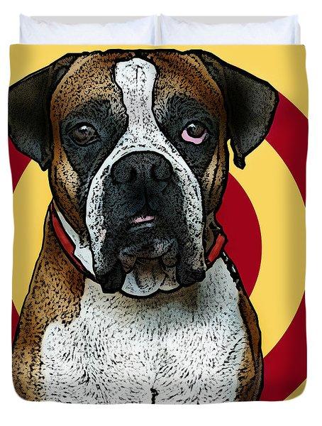 Wild Boxer 2 Duvet Cover by Bibi Romer