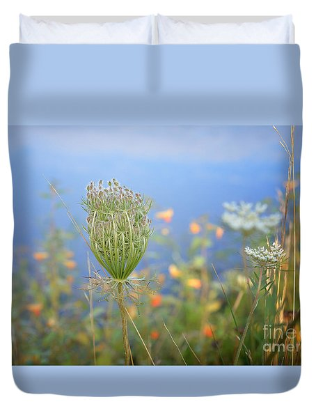 Wild Carrot Duvet Cover