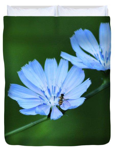 Wild Chicory Duvet Cover