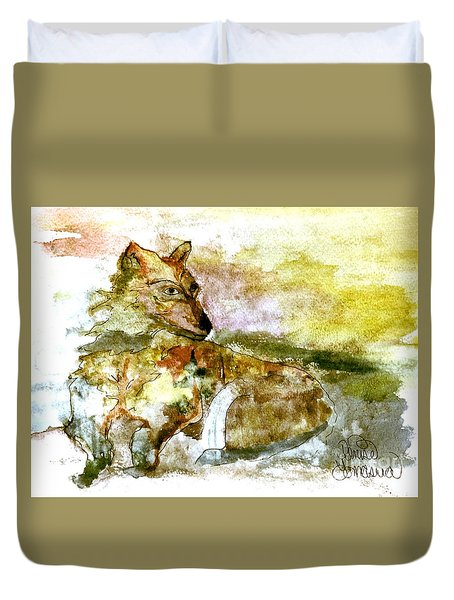 Wild Country Wolf Duvet Cover