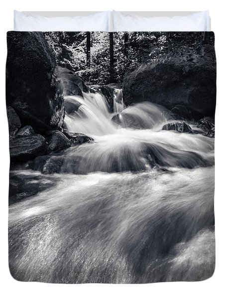 wild creek in Harz, Germany Duvet Cover