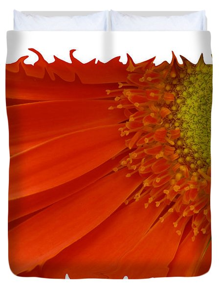 Duvet Cover featuring the photograph Wild Daisy by Shari Jardina