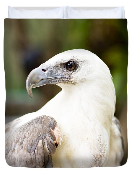 Duvet Cover featuring the photograph Wild Eagle by Jorgo Photography - Wall Art Gallery