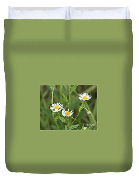 Wild Flower Sunny Side Up Duvet Cover