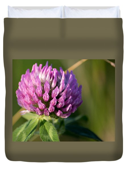 Wild Flower Bloom  Duvet Cover