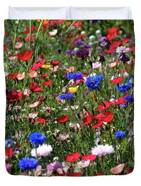 Wild Flower Meadow 2 Duvet Cover