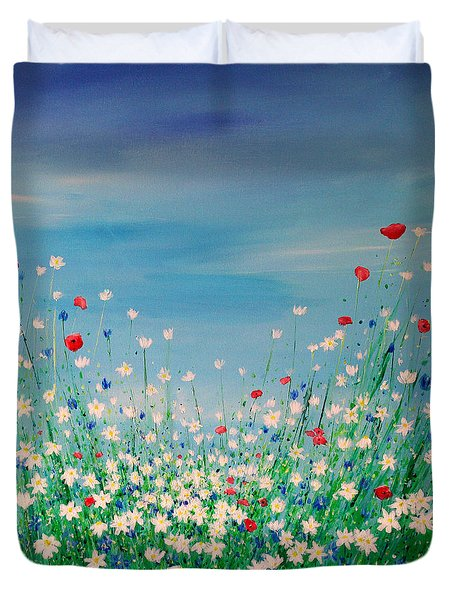 Wild Flower Meadow Duvet Cover