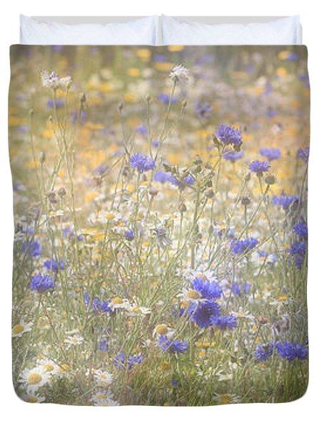 Wild Flower Meadow Duvet Cover