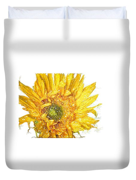 Duvet Cover featuring the photograph  Wild Flower Two  by Heidi Smith