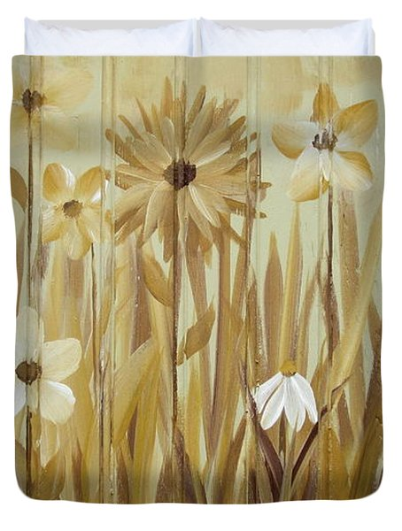 Wild Flowers Duvet Cover
